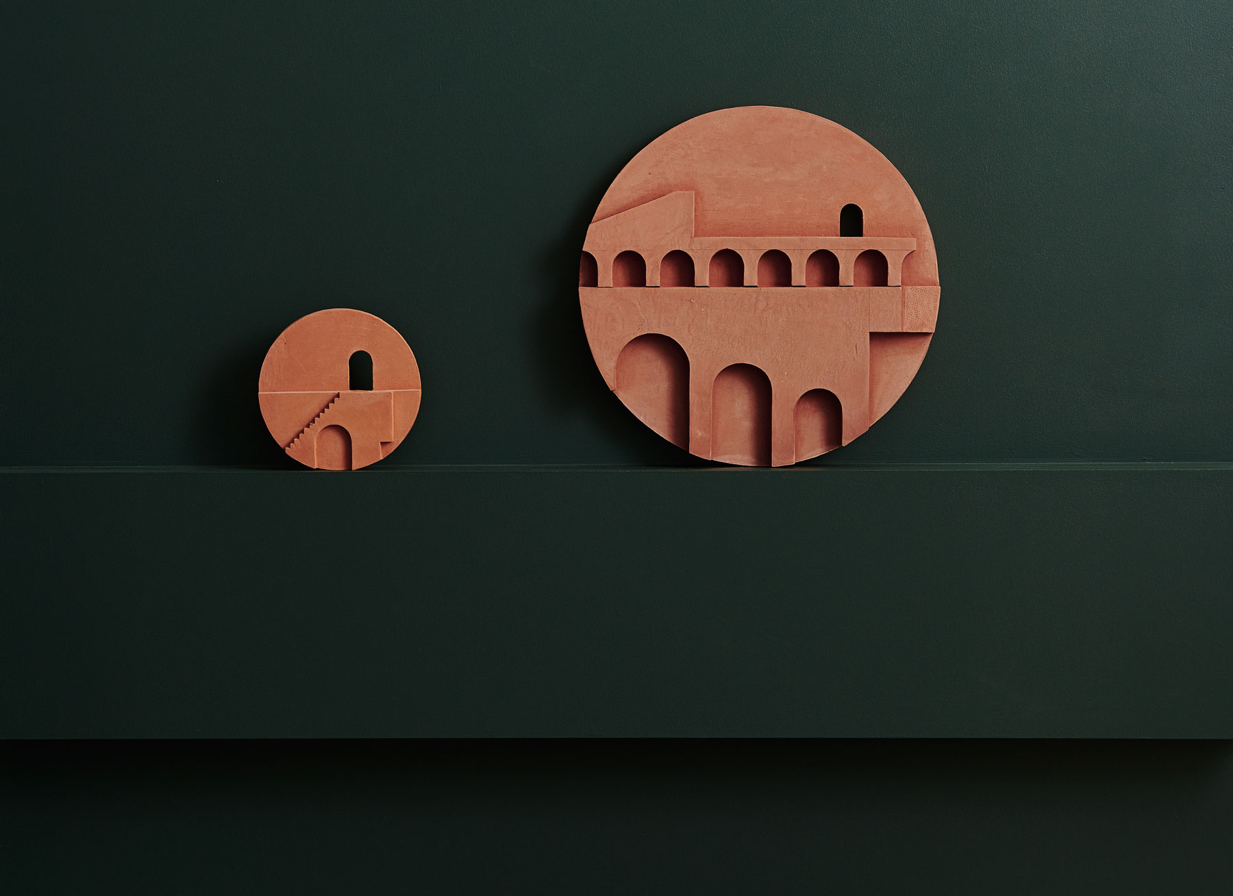 Structures II Exhibition by Bruce Rowe from Anchor Ceramics   Yellowtrace