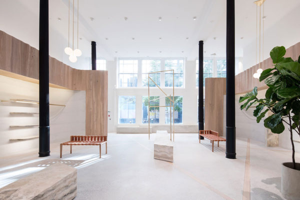 Thakoon Panichgul's Flagship Store in NYC by SHoP Architects | Yellowtrace