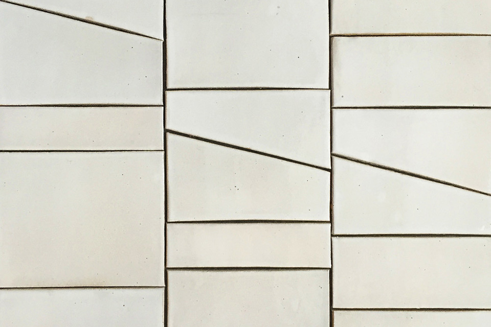 Tiles by Bruce Rowe from Anchor Ceramics | Yellowtrace