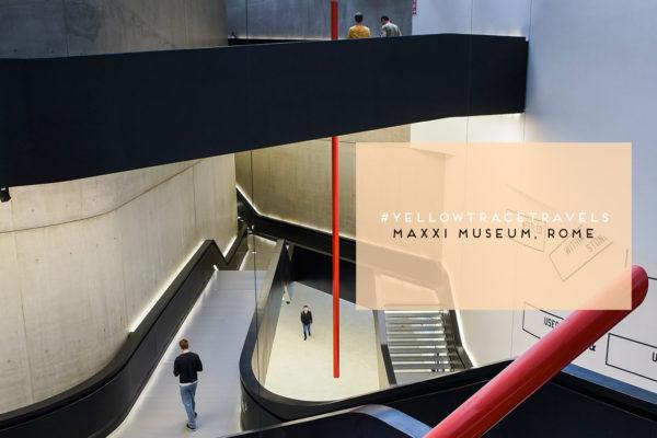 MAXXI Museum Rome by Zaha Hadid. Photo by Nick Hughes | Yellowtrace