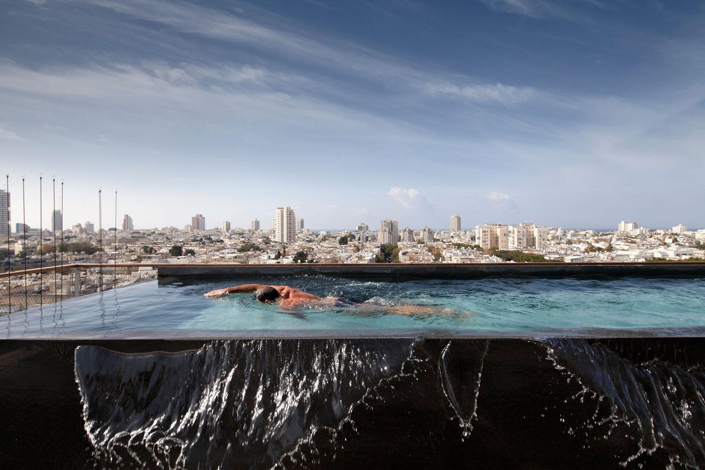 Antokolsky Penthouse by Pitsou Kedem | Yellowtrace