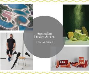 Australian Design & Art Archive 2016   Yellotwtrace