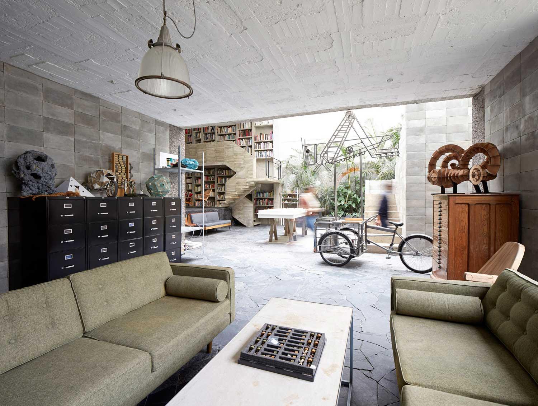 Home & Studio of Mexican Sculptor Pedro Reyes & Carla Fernandez   Yellowtrace