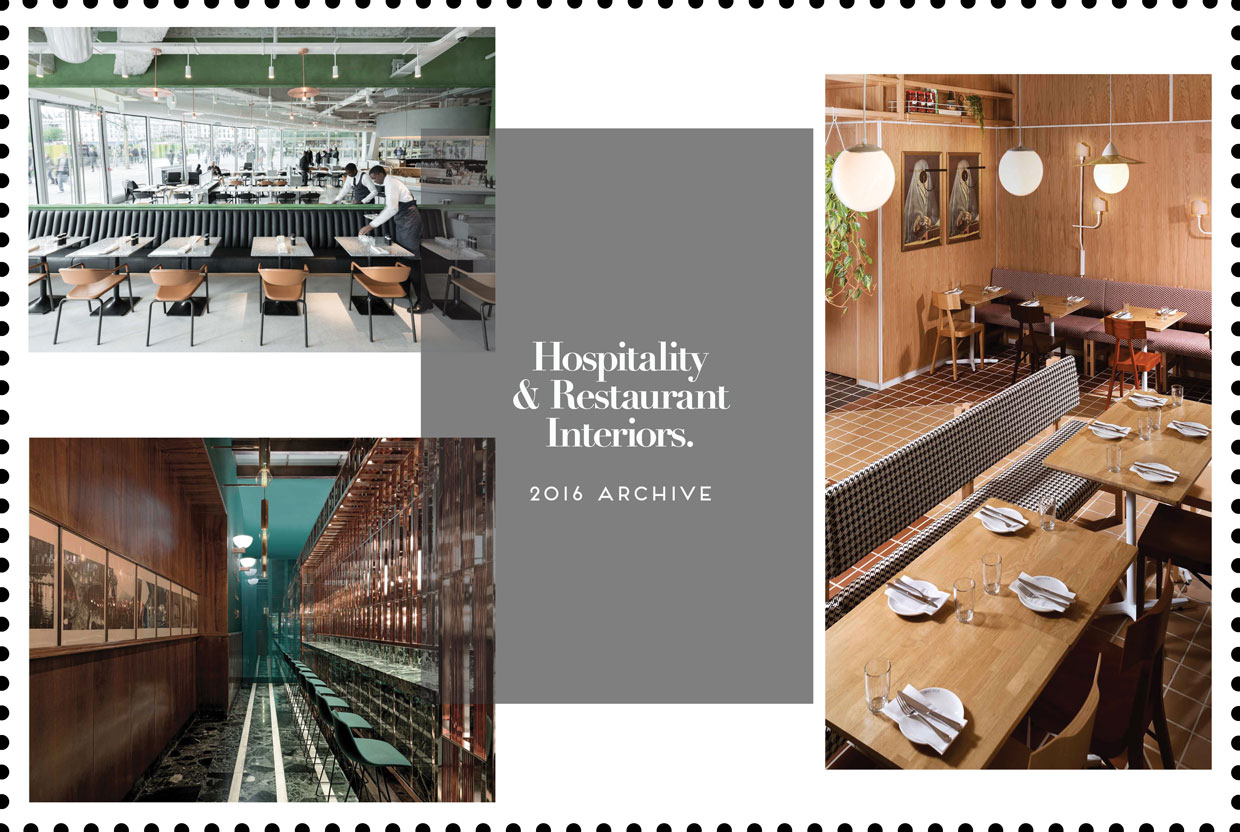 Hospitality & Restaurant Interiors 2016 Archive | Yellowtrace