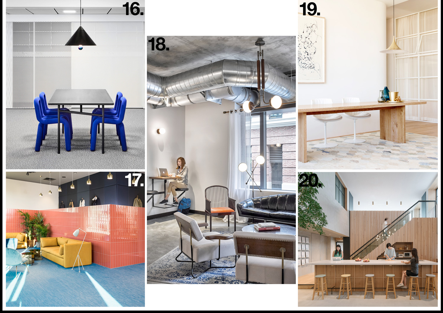 Workplace Interior Design Archive 2016 | Yellowtrace