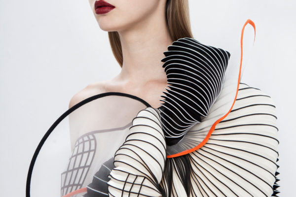 Noa Raviv's 3D Printed Couture Creations   Yellowtrace