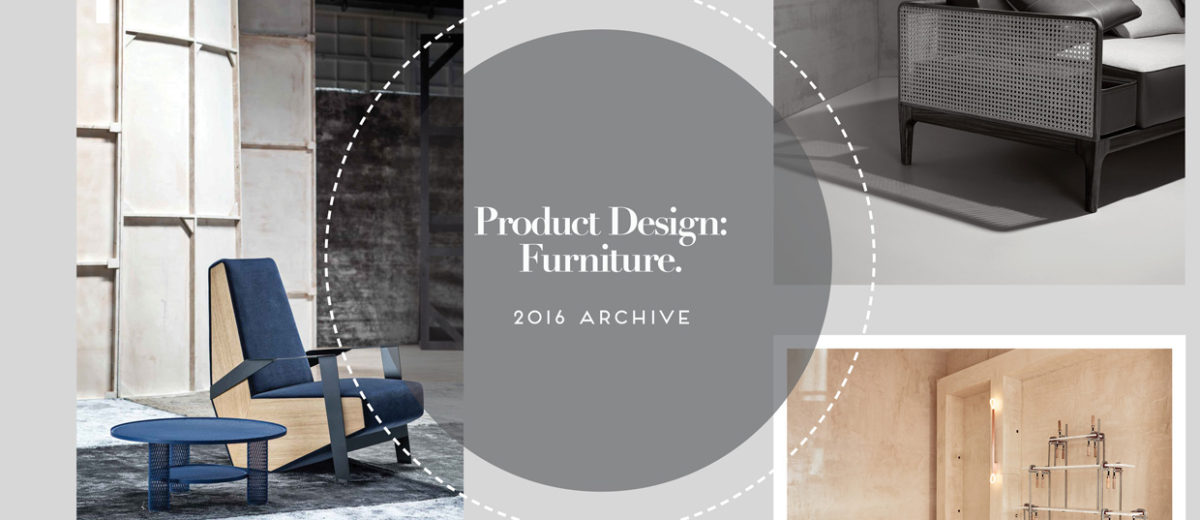 Product Design Furniture Archive 2016 | Yellowtrace