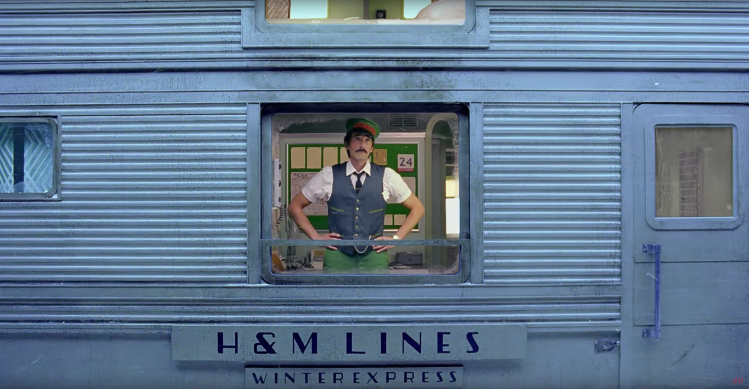 Wes Anderson\'s Christmas Short Film for H&M | Yellowtrace