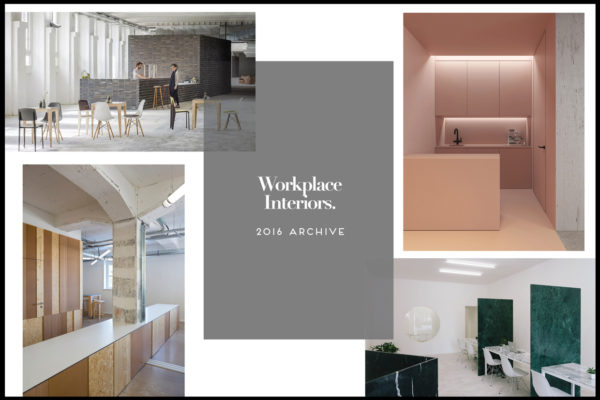 Workplace Interiors Archive 2016 | Yellowtrace