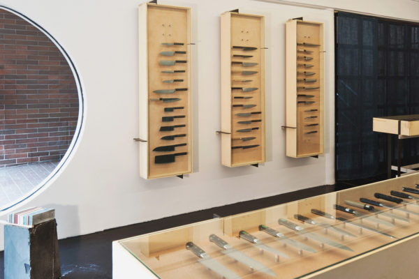 Ai & Om Knives Shop in Vancouver by Scott and Scott Architects | Yellowtrace