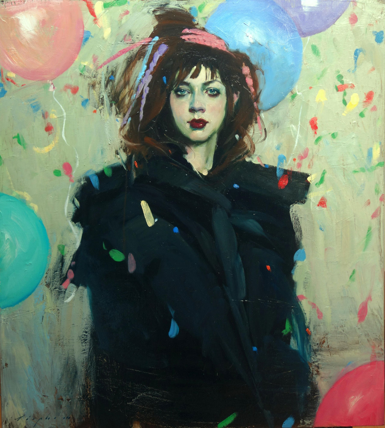 Balloons and Confetti, 2016 by Malcolm T. Liepke | Yellowtrace