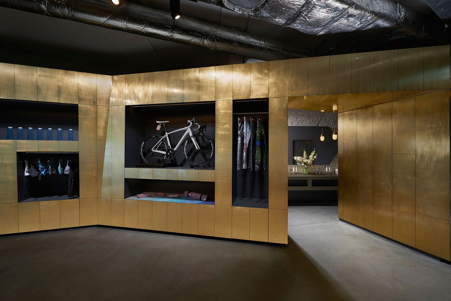 BeCycle Fitness Studio Berlin by Lien Tran Interior Design | Yellowtrace