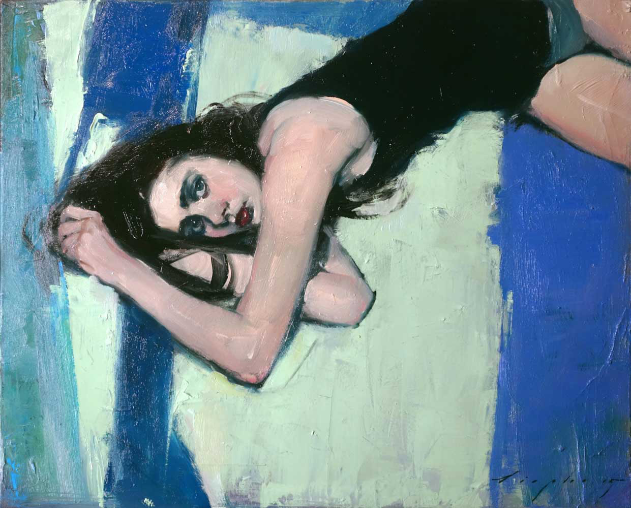 Blue Angel I, 2015 by Malcolm T. Liepke | Yellowtrace
