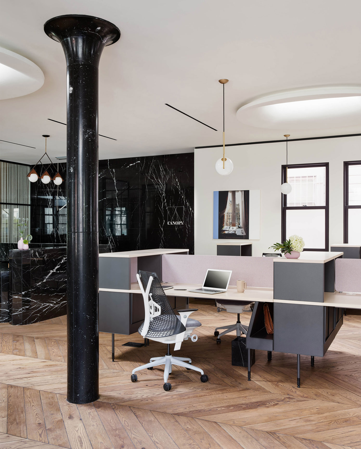 Canopy Space: Boutique Co-Working Office in San Francisco by Yves Behar | Yellowtrace