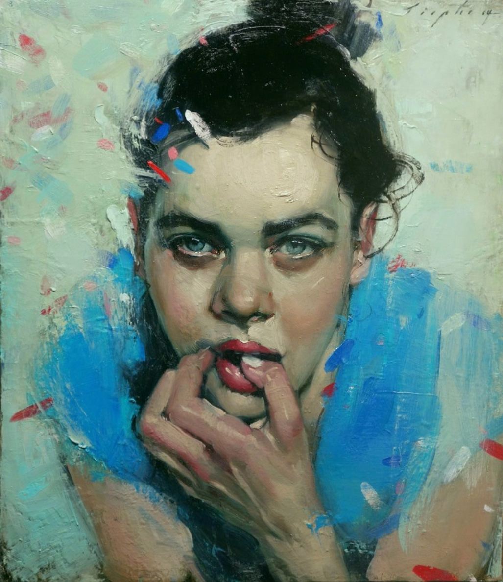 Confetti, 2014 by Malcolm T. Liepke | Yellowtrace