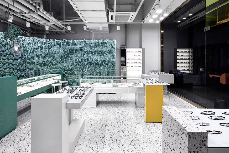 Endpiece: Super Cool Optician's Store in Seoul, South Korea by WGNB | Yellowtrace