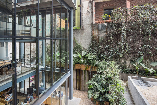 Havre 77: Derelict House in Mexico City Transformed into Mixed-Use Venue by Francisco Pardo & Julio Amezcua | Yellowtrace
