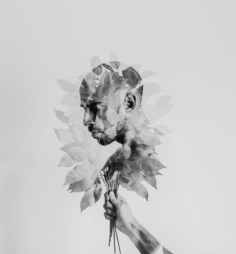 Hypnotic Double Exposure Portraits, Alessio Albi | Yellowtrace