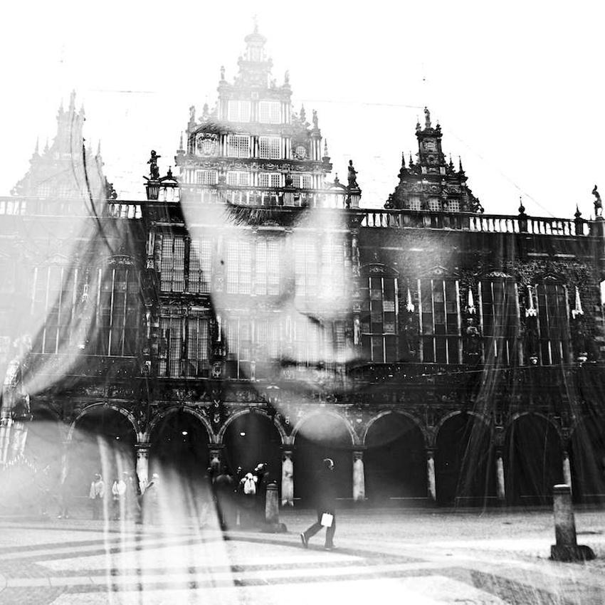 Hypnotic Double Exposure Portraits, Aneta Ivanova | Yellowtrace