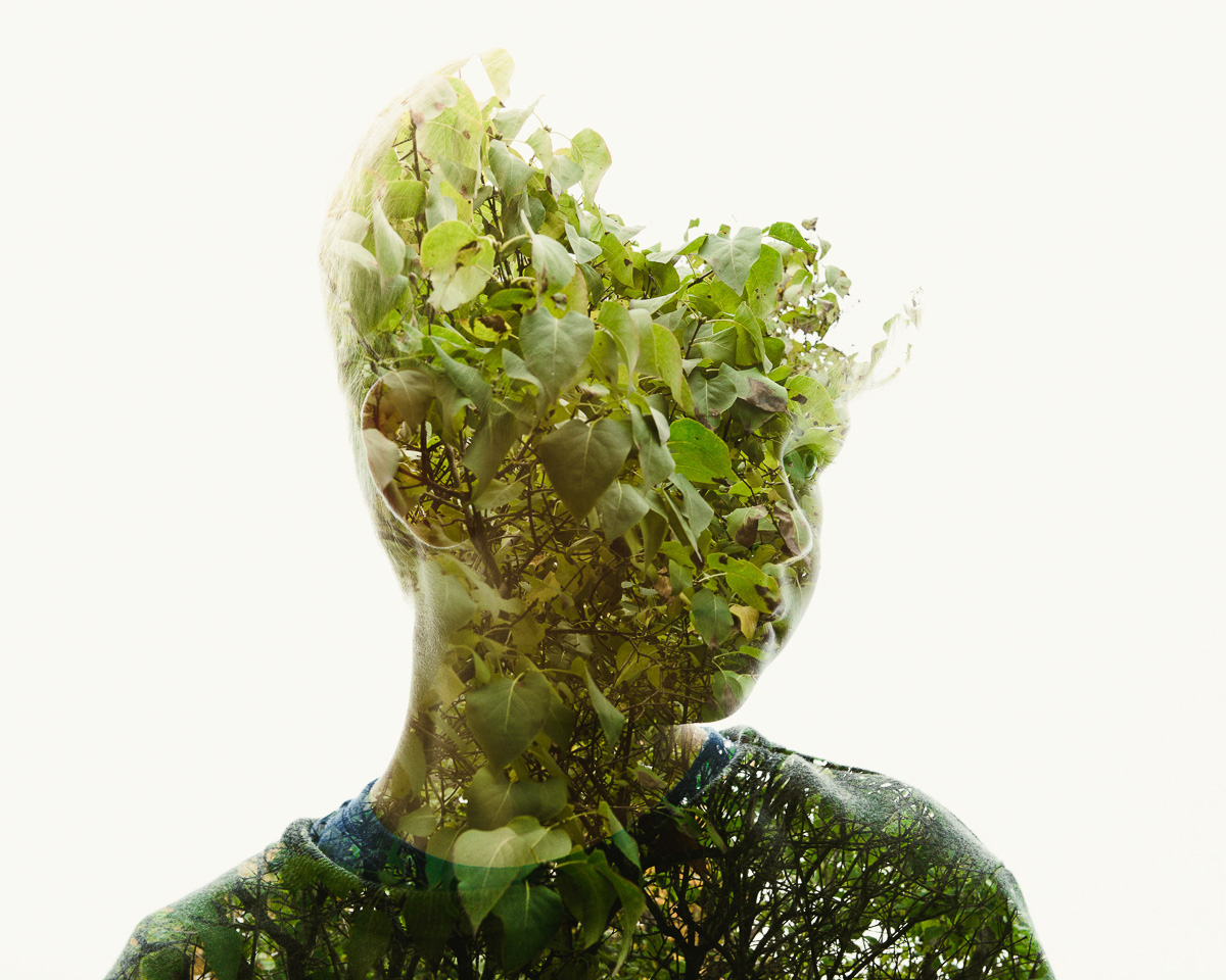 Hypnotic Double Exposure Portraits, Christoffer Relander | Yellowtrace