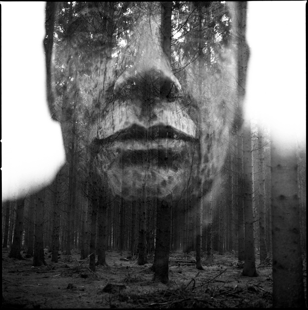 Hypnotic Double Exposure Portraits, Florian Imgrund | Yellowtrace