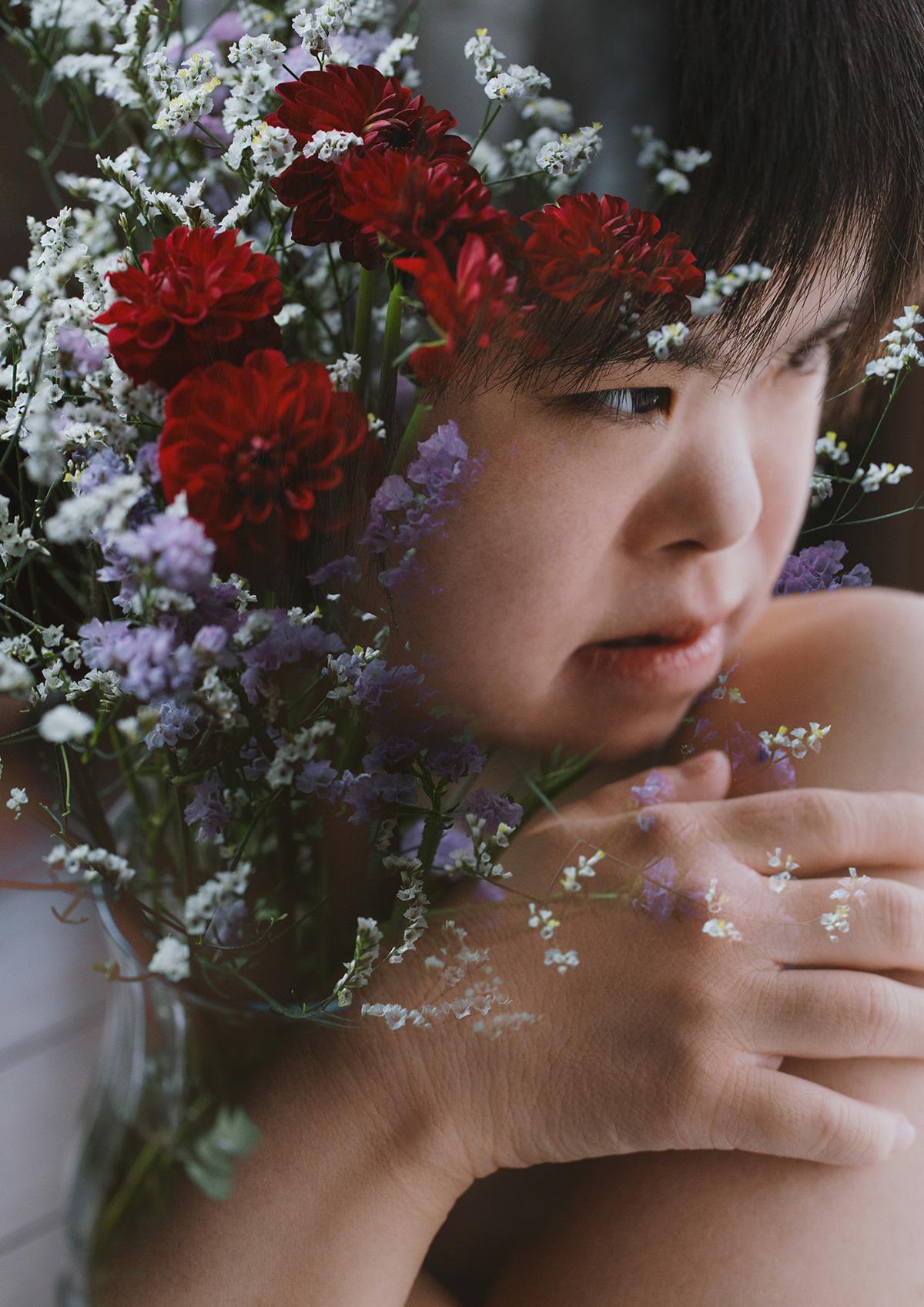 Hypnotic Double Exposure Portraits, Miki Takahashi | Yellowtrace