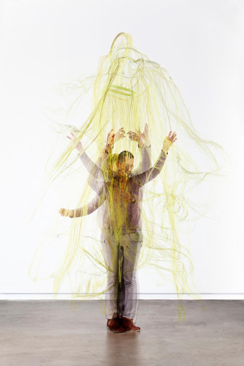 Hypnotic Double Exposure Portraits, Temporary Trees | Yellowtrace