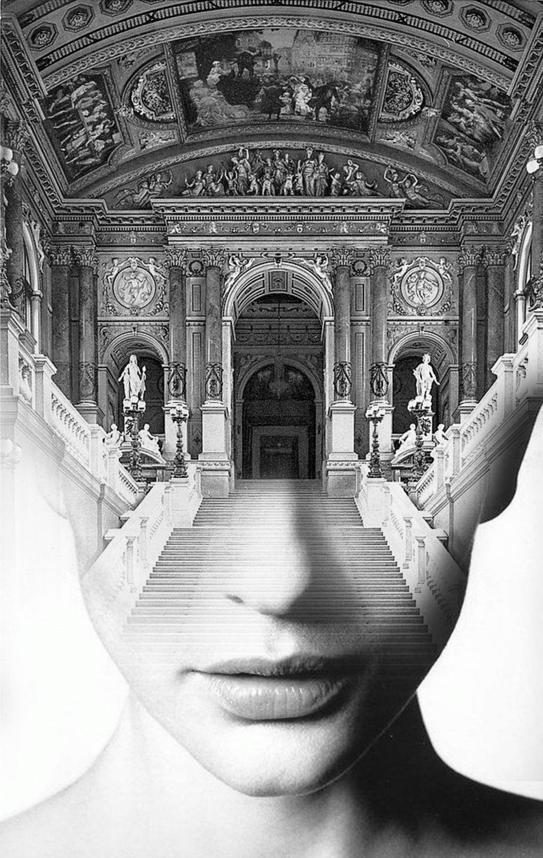 Hypnotic Double Exposure Portraits, Antonio Mora | Yellowtrace