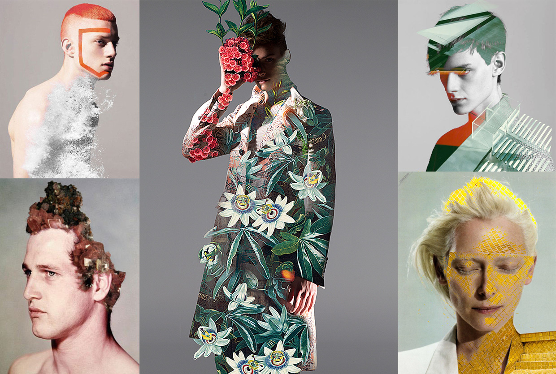 Hypnotic Double Exposure Portraits, Matt Wisniewski | Yellowtrace