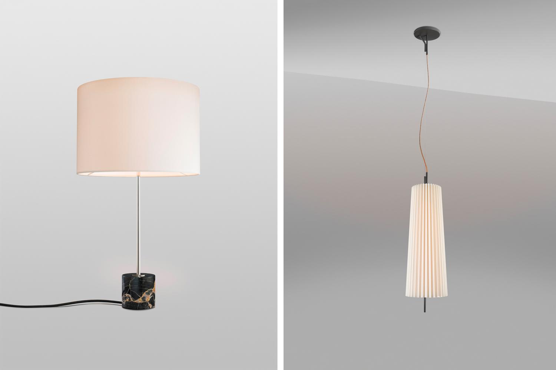 Kilo Lamp & Fliegenbein Pendant by KALMAR Werkstatten | Yellowtrace