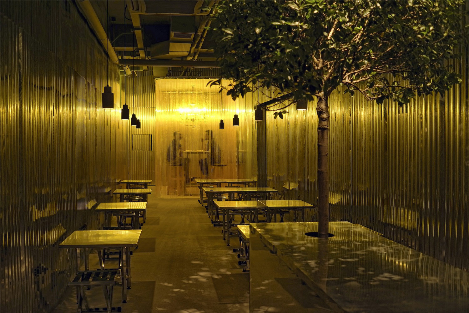 Metal Hut in Beijing, China by Robot 3 Design | Yellowtrace