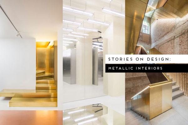 #StoriesOnDesignByYellowtrace: Metallic Interiors.