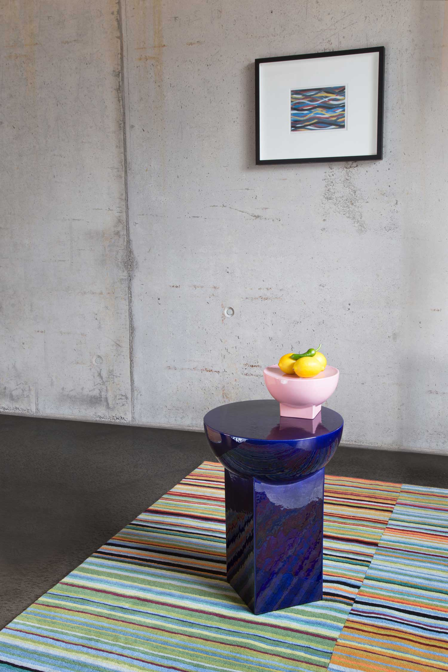 Mila Table & Mila-Bowl by Sebastian Herkner for Pulpo | Yellowtrace