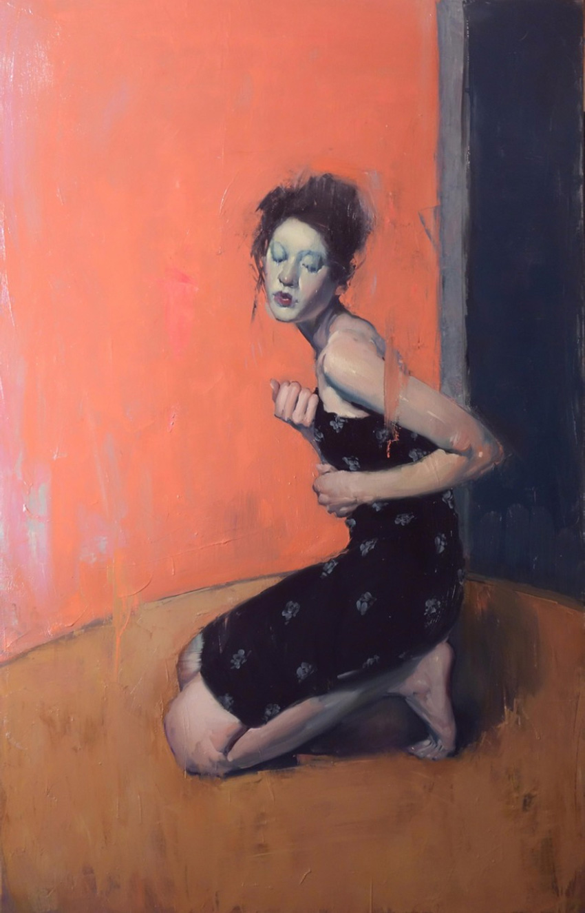 On Her Knees, 2015 by Malcolm Liepke | Yellowtrace