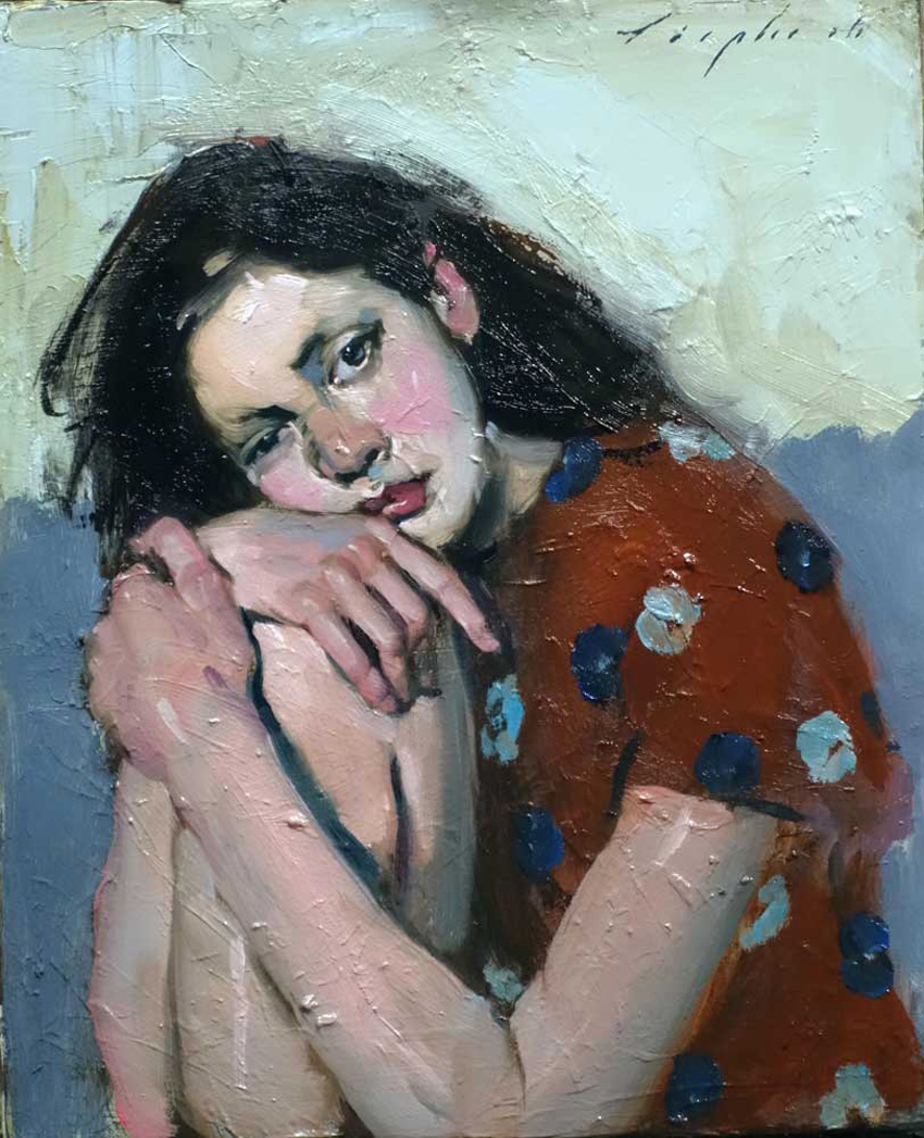 Resting, 2016 by Malcolm T. Liepke | Yellowtrace