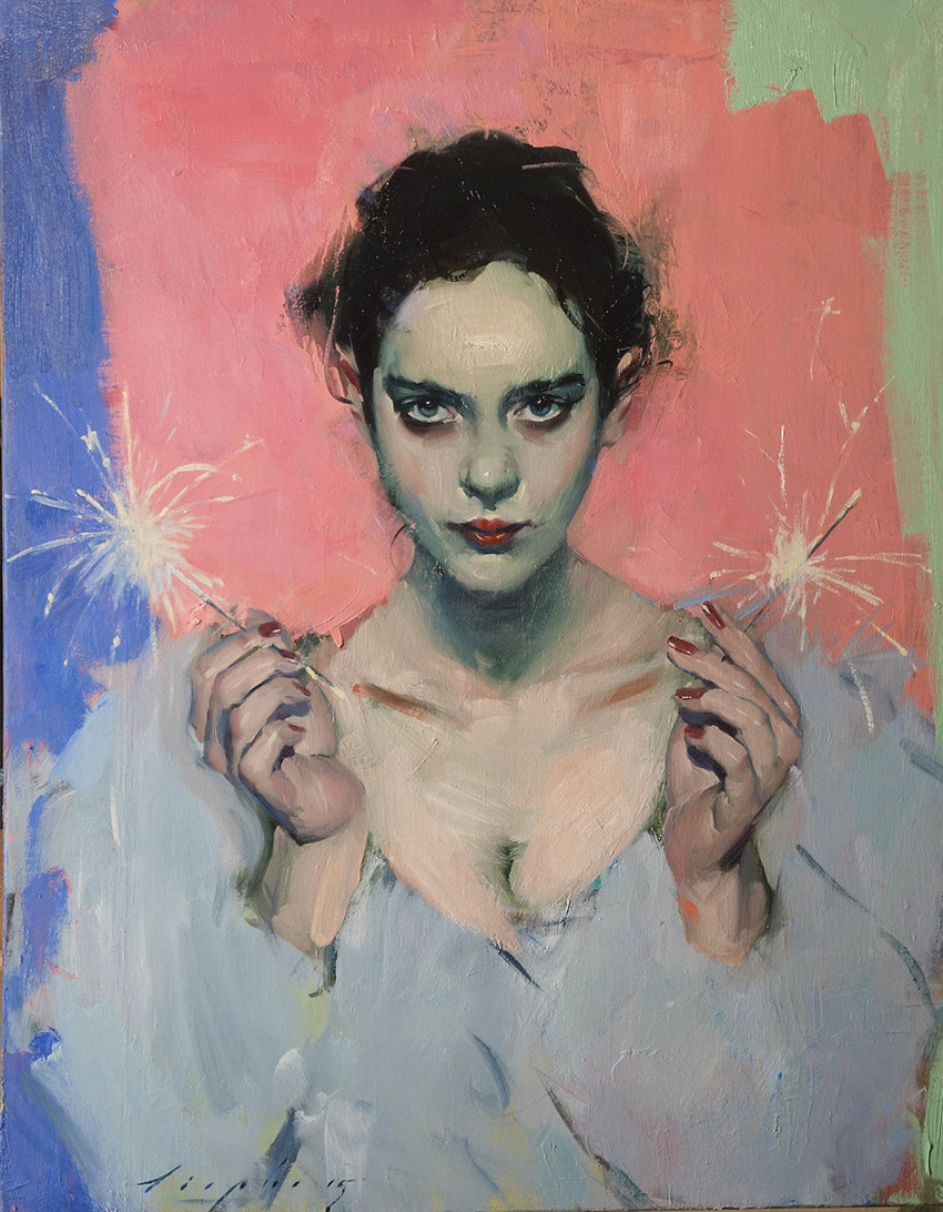 Sparklers, 2015 by Malcolm T. Liepke | Yellowtrace