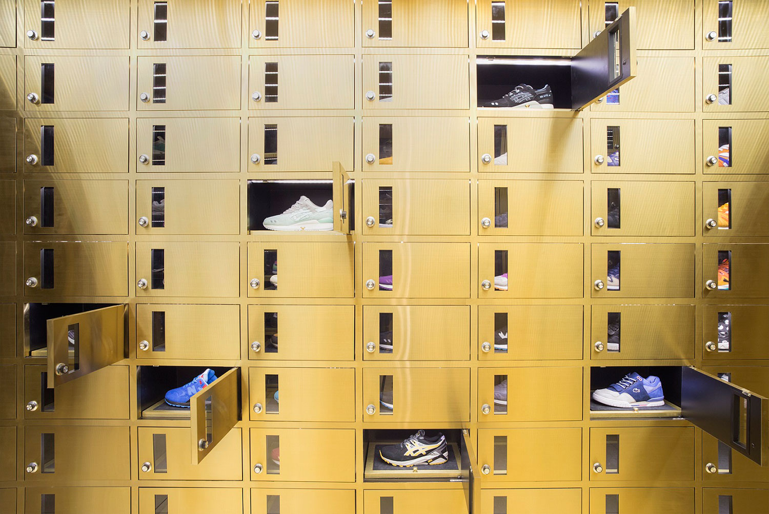 Trainers Store by External Reference Architects Bangkok | Yellowtrace