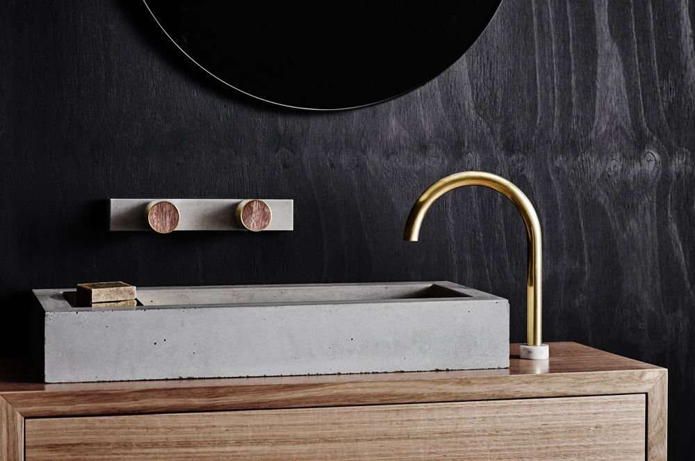 wood melbourne has launched their latest collection of inspired tapware basins and bathroom accessories maker and designer oliver maclatchy founded wood