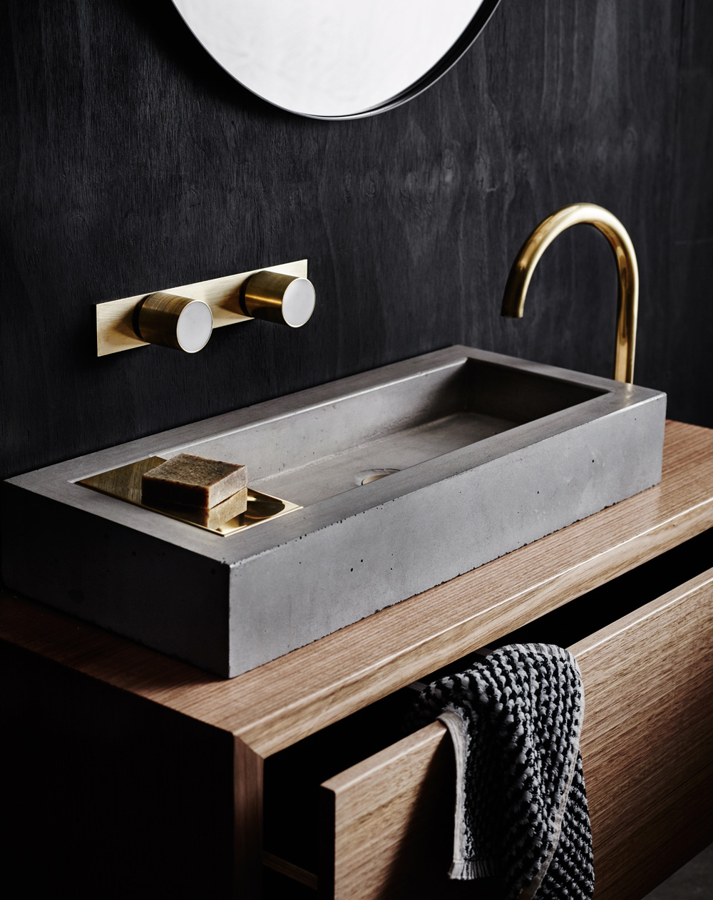wood melbournes new collection of bathroom products yellowtrace