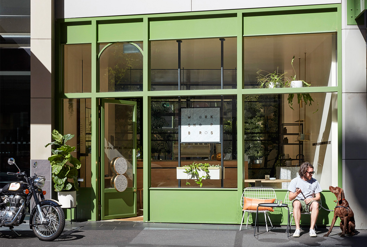 Workshop Brothers Specialty Coffee Shop in Melbourne CBD by The Stella Collective | Yellowtrace