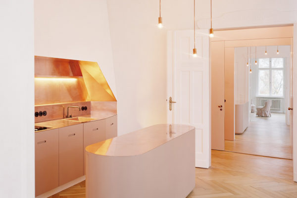 APARTMENT S in Berlin by Thomas Kröger Architects   Yellowtr