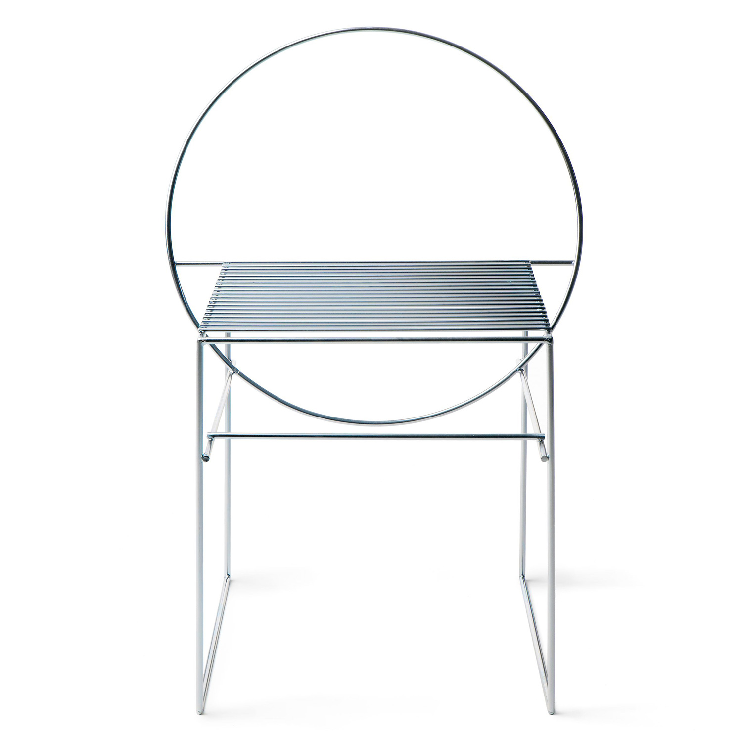Aalto University Students Create 12 Chairs Using Steel Rods at Stockholm Furniture Fair 2017 | Yellowtrace
