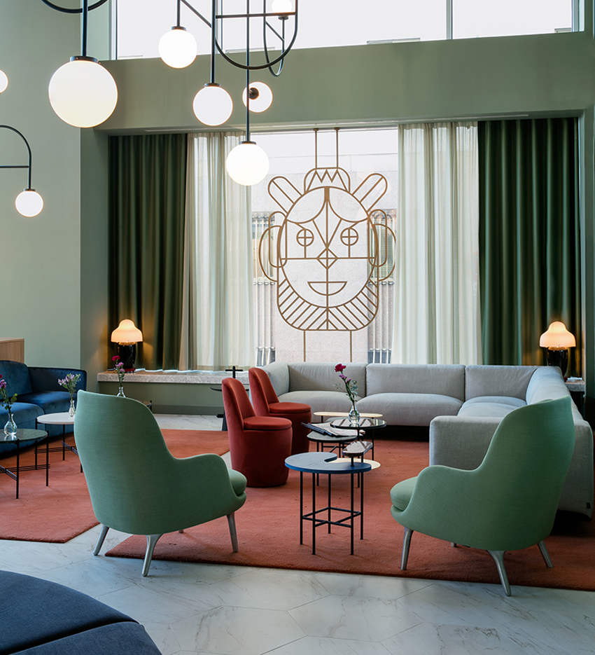 Barcelo torre de madrid hotel by jaime hayon yellowtrace for Hotel interiors pictures
