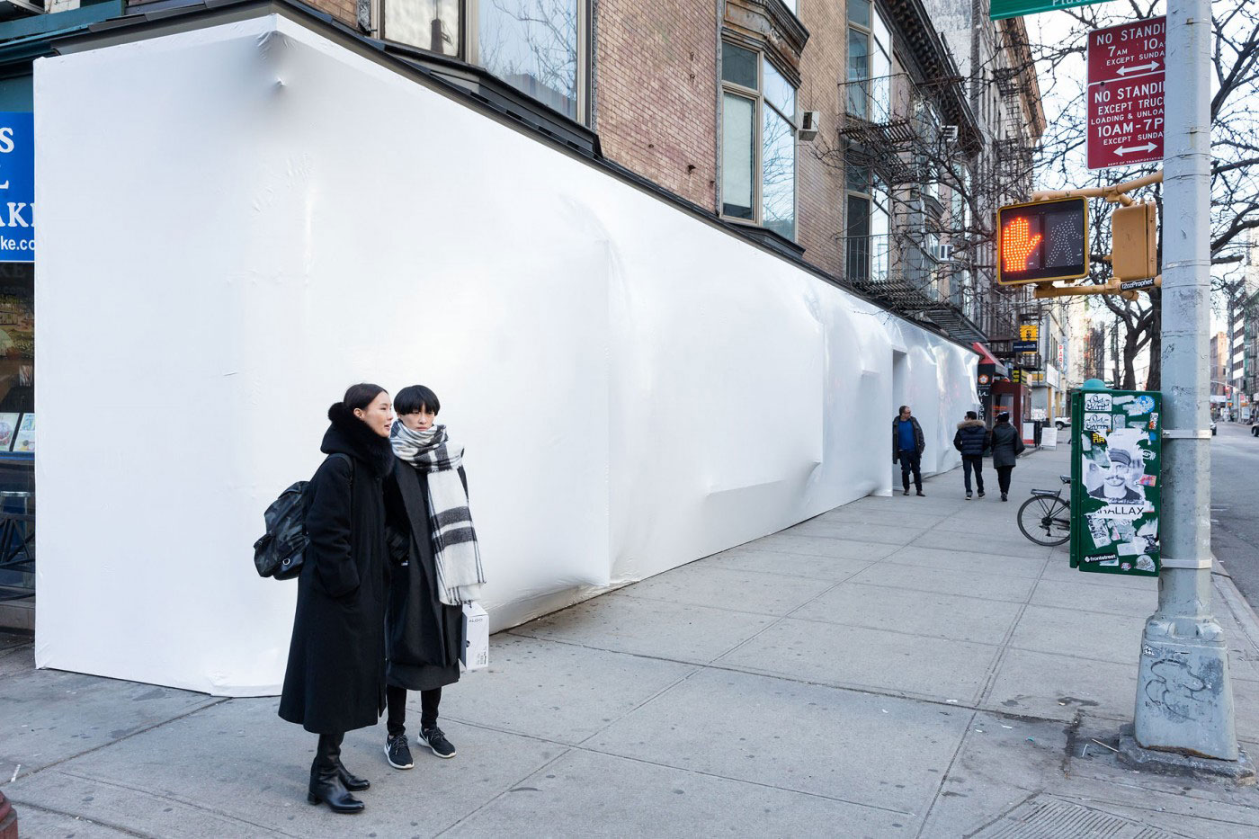 Blueprint at Storefront for Art & Architecture by SO-IL | Yellowtrace