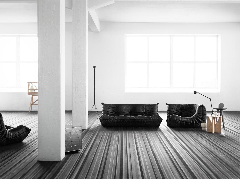 Bolon Flooring Jean Nouvel at Stockholm Furniture Fair 2017 | Yellowtrace