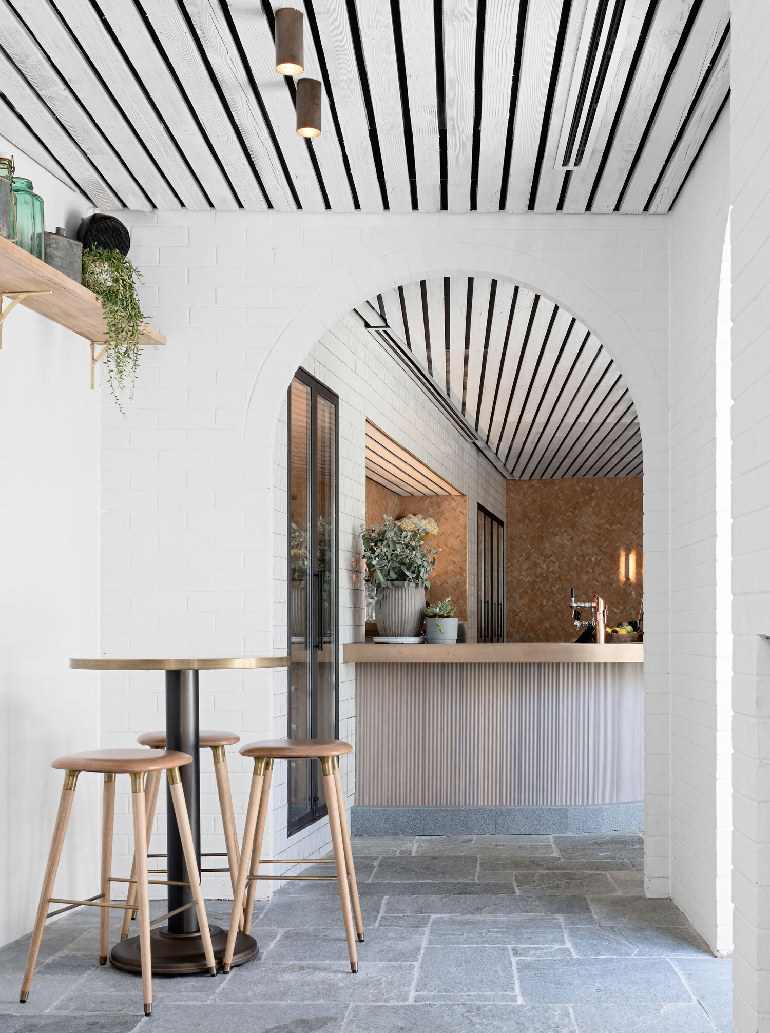 Buena Vista Hotel in Mosman, Australia by SJB Interiors & Tess Regan Design | Yellowtrace
