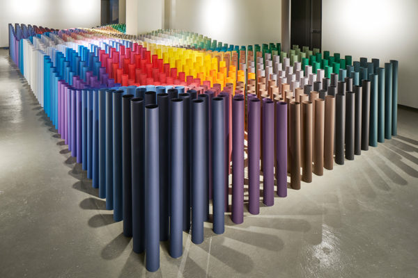 G . F Smith Showroom in London: A Celebration of Paper | Yellowtrace