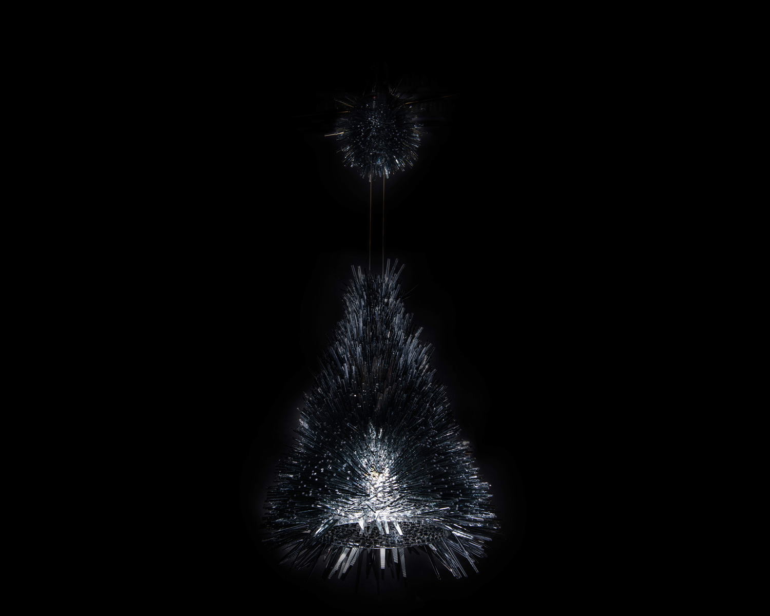 Hairy Wild Man From Botany Bay Chandelier, Broached Monsters by Trent Jansen | Yellowtrace