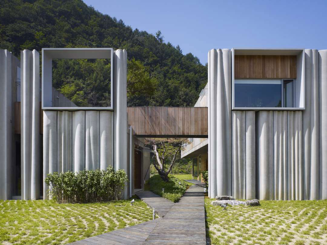 Hanil Visitors Center & Guest House Maepo Korea by Nicholas Locke | Yellowtrace