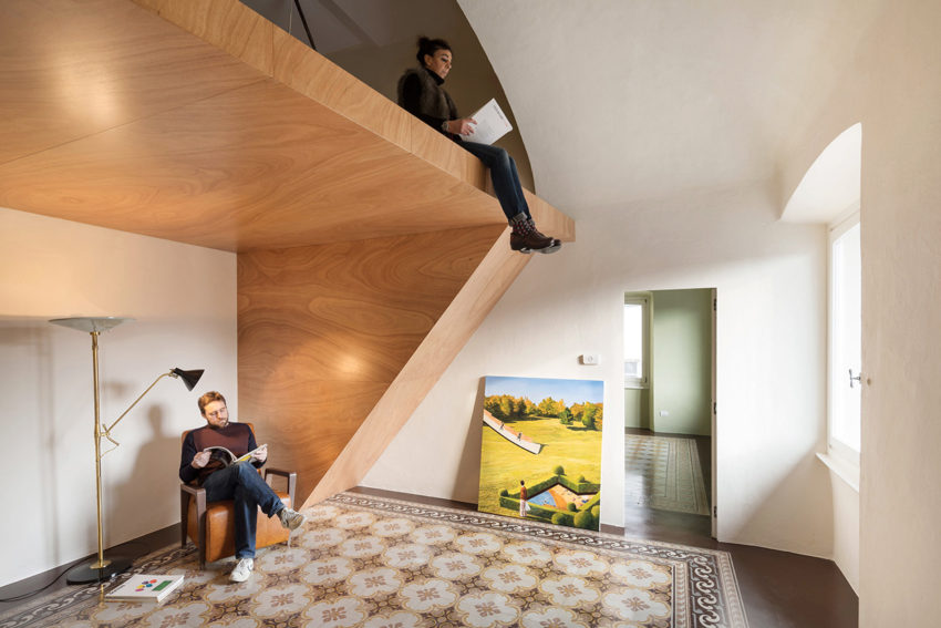 Heritage Apartment Renovation in CHIAVARI, Italy by NICOLA SPINETTO | Yellowtrace